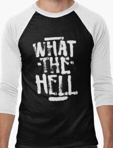 Avril Lavigne - What The Hell Men's Baseball ¾ T-Shirt