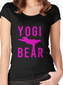 Yogi Bear Women's Fitted Scoop T-Shirt