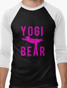 Yogi Bear Men's Baseball ¾ T-Shirt