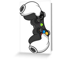 Good Gloves • Video Games Greeting Card