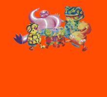 Australian Frogs Kids Tee