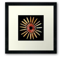 Brass Daisy Framed Print