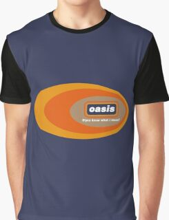 Oasis - Do Y'Know What I Mean? Graphic T-Shirt