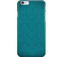 seamless blue patterns iPhone Case/Skin