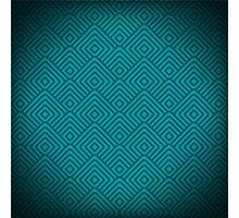 seamless blue patterns Photographic Print