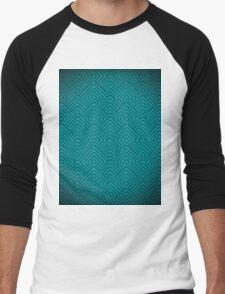 seamless blue patterns Men's Baseball ¾ T-Shirt