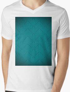 seamless blue patterns Mens V-Neck T-Shirt