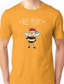 Bee Merry, Christmas Bumble Bee Unisex T-Shirt