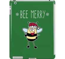 Bee Merry, Christmas Bumble Bee iPad Case/Skin