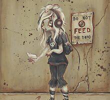 Asylum park Lucy -zombie girl by WhiteStagArt