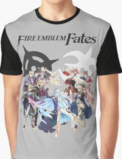 Fire Emblem Fates - Hoshido & Nohr Royalty (with Logo) Graphic T-Shirt