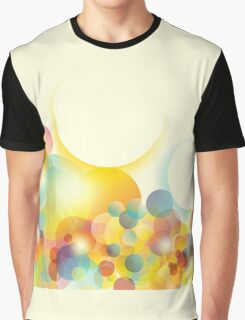 Abstract colorful background Graphic T-Shirt