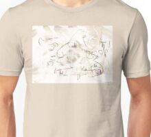 How Measure the Moon from the Fish? Unisex T-Shirt