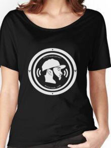 Podcast Big Logo Shirts Women's Relaxed Fit T-Shirt