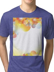 Abstract colorful background Tri-blend T-Shirt