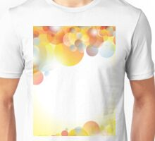 Abstract colorful background Unisex T-Shirt