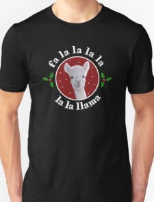 Christmas Carol Llama T-Shirt