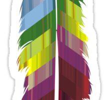 Prism Feather Sticker