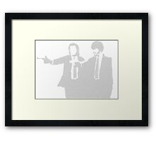 Pulp Fiction Script Framed Print