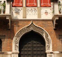 Venetian style facade Sticker