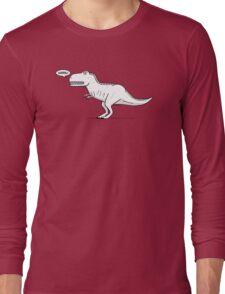 Cartoon Tyrannosaurus Rex Long Sleeve T-Shirt