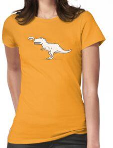 Cartoon Tyrannosaurus Rex Womens Fitted T-Shirt