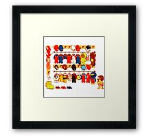 The Plumber's Closet Framed Print