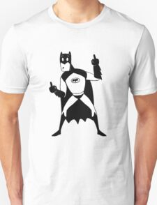 Batman Middle Finger  T-Shirt