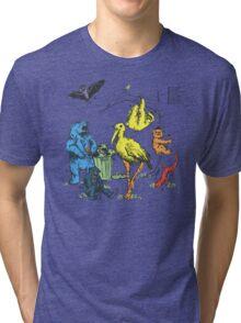 Friendly Beasts Tri-blend T-Shirt