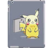 Pikachu Recharge iPad Case/Skin