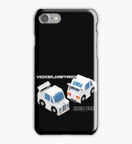 VoxelMetric Race Car iPhone Case/Skin