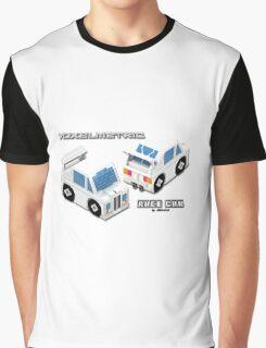 VoxelMetric Race Car Graphic T-Shirt