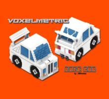 VoxelMetric Race Car Kids Tee