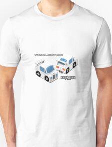 VoxelMetric Race Car Unisex T-Shirt