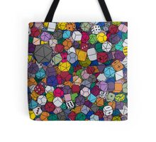 Gamer Dice Tote Bag