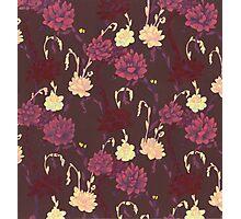 Art Nouveau Succulents 2 Photographic Print