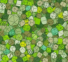 Forest Dice by piratical