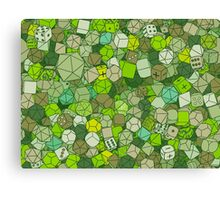 Forest Dice Canvas Print