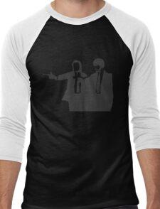 Pulp Fiction Script White Men's Baseball ¾ T-Shirt