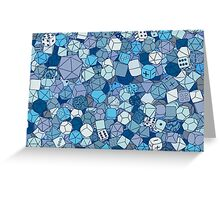 Frost Dice Greeting Card