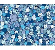 Frost Dice Photographic Print