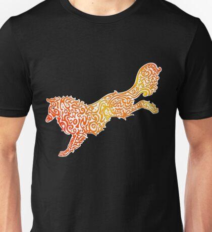Tribal Collie Unisex T-Shirt
