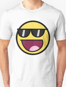 Awesome Face With Glases | Meme T-Shirt