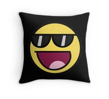 Awesome Face With Glases | Meme Throw Pillow