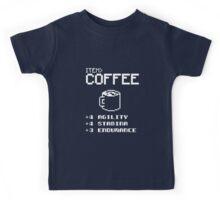 Soft Funny Coffee Kids Tee