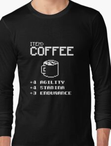 Soft Funny Coffee Long Sleeve T-Shirt