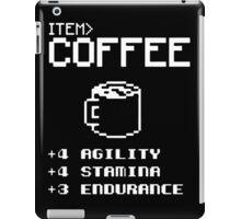 Soft Funny Coffee iPad Case/Skin