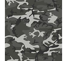 White and Grey Camouflage by ARTPICSS