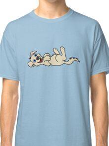 Tan Dog - Roll Over Classic T-Shirt
