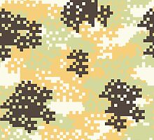 Pixel Desert Camouflage by ARTPICSS